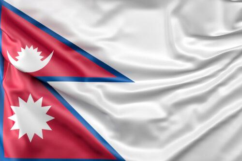 Flag of Nepal - slon.pics - free stock photos and illustrations