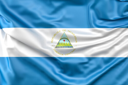 Flag of Nicaragua - slon.pics - free stock photos and illustrations