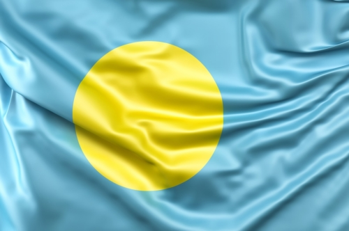 Flag of Palau - slon.pics - free stock photos and illustrations