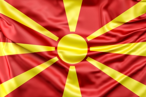 Flag of Republic of Macedonia - slon.pics - free stock photos and illustrations