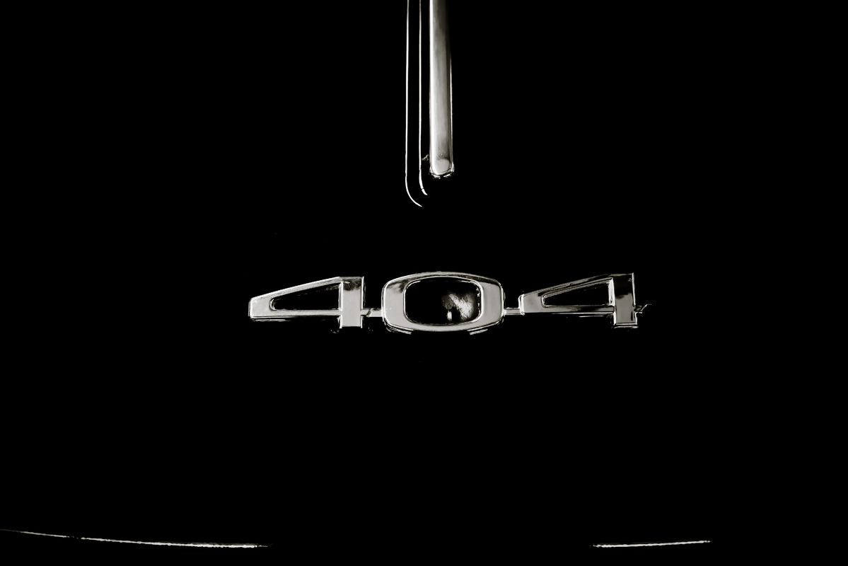 Peugeot 404 emblem - slon.pics - free stock photos and illustrations