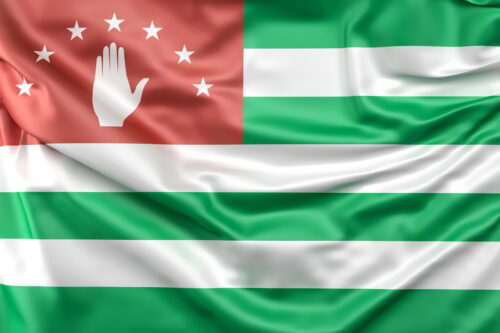 Flag of Abkhazia - slon.pics - free stock photos and illustrations