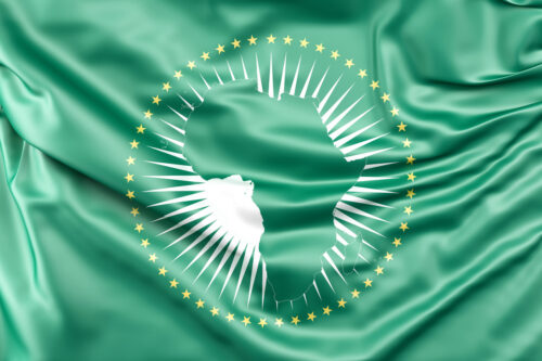 Flag of African Union - slon.pics - free stock photos and illustrations