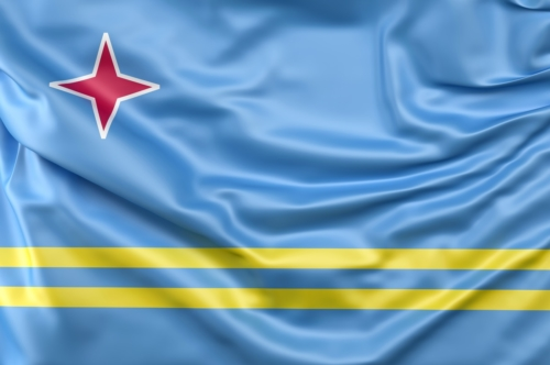 Flag of Aruba - slon.pics - free stock photos and illustrations