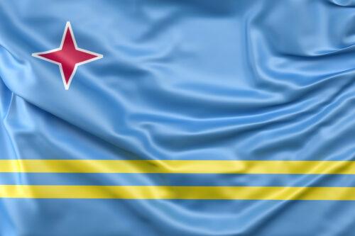 Flag of Aruba - slon.pics - free stock photos and illustrations