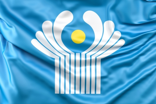 Flag of Commonwealth of Independent States - slon.pics - free stock photos and illustrations