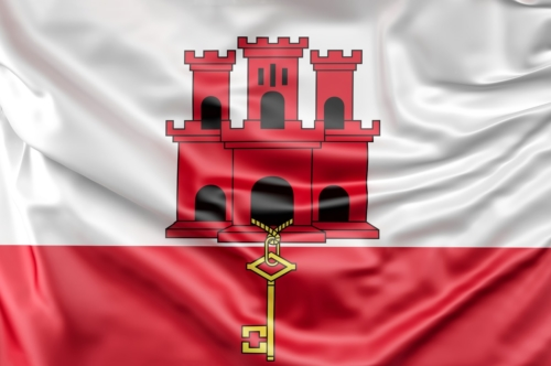 Flag of Gibraltar - slon.pics - free stock photos and illustrations