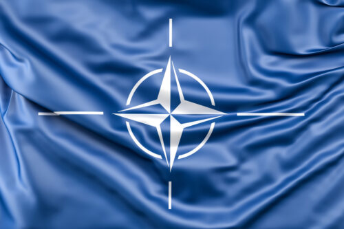 Flag of NATO - slon.pics - free stock photos and illustrations
