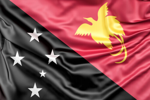 Flag of Papua New Guinea - slon.pics - free stock photos and illustrations