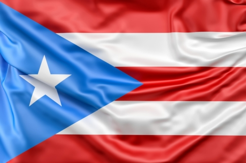 Flag of Puerto Rico - slon.pics - free stock photos and illustrations