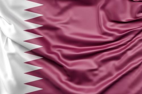 Flag of Qatar - slon.pics - free stock photos and illustrations