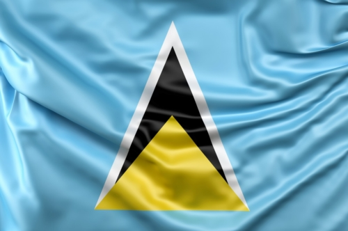Flag of Saint Lucia - slon.pics - free stock photos and illustrations