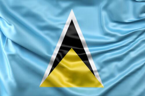 Flag of Saint Lucia - slon.pics - free stock photos and illustrations