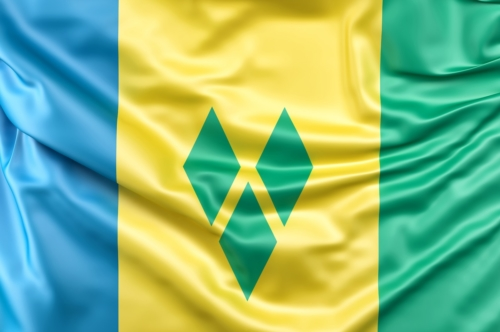 Flag of Saint Vincent and the Grenadines - slon.pics - free stock photos and illustrations