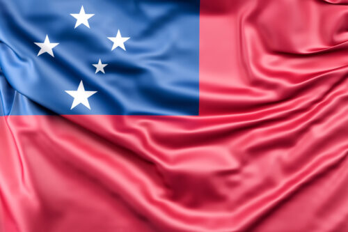 Flag of Samoa - slon.pics - free stock photos and illustrations