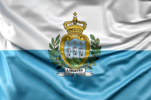 Flag of San Marino - slon.pics - free stock photos and illustrations