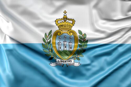 Flag of San Marino - slon.pics - free stock photos and illustrations