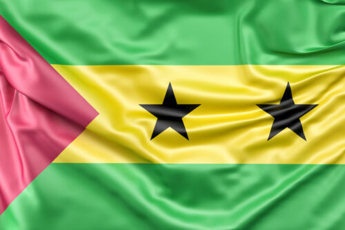 Flag of Sao Tome and Principe - slon.pics - free stock photos and illustrations