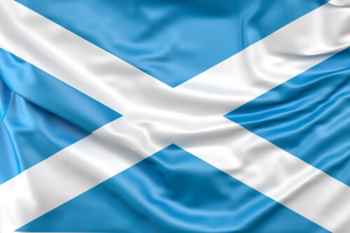 Flag of Scotland - slon.pics - free stock photos and illustrations