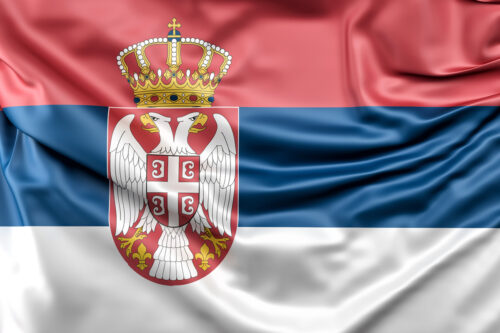 Flag of Serbia - slon.pics - free stock photos and illustrations