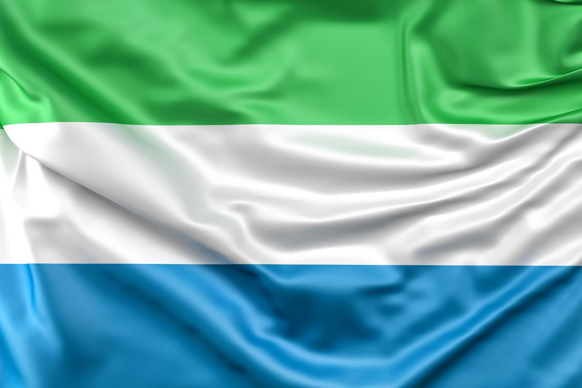 Flag of Sierra Leone - slon.pics - free stock photos and illustrations