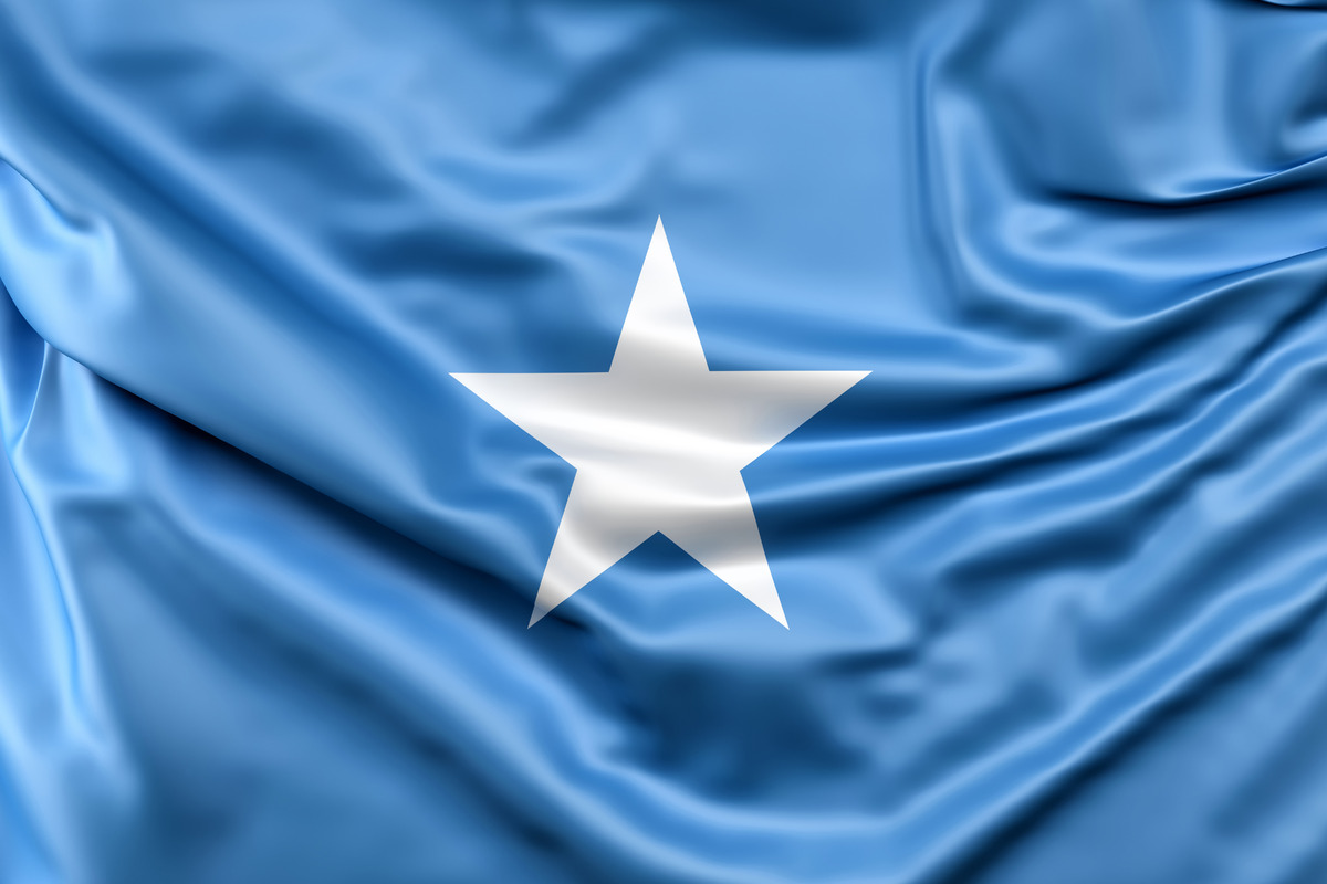 Flag of Somalia - slon.pics - free stock photos and illustrations