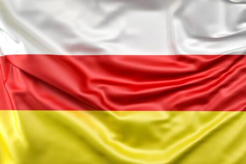 Flag of South Ossetia - slon.pics - free stock photos and illustrations