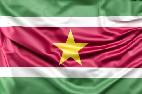 Flag of Suriname - slon.pics - free stock photos and illustrations