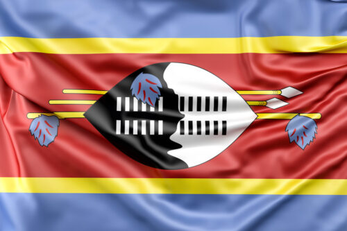 Flag of Swaziland - slon.pics - free stock photos and illustrations