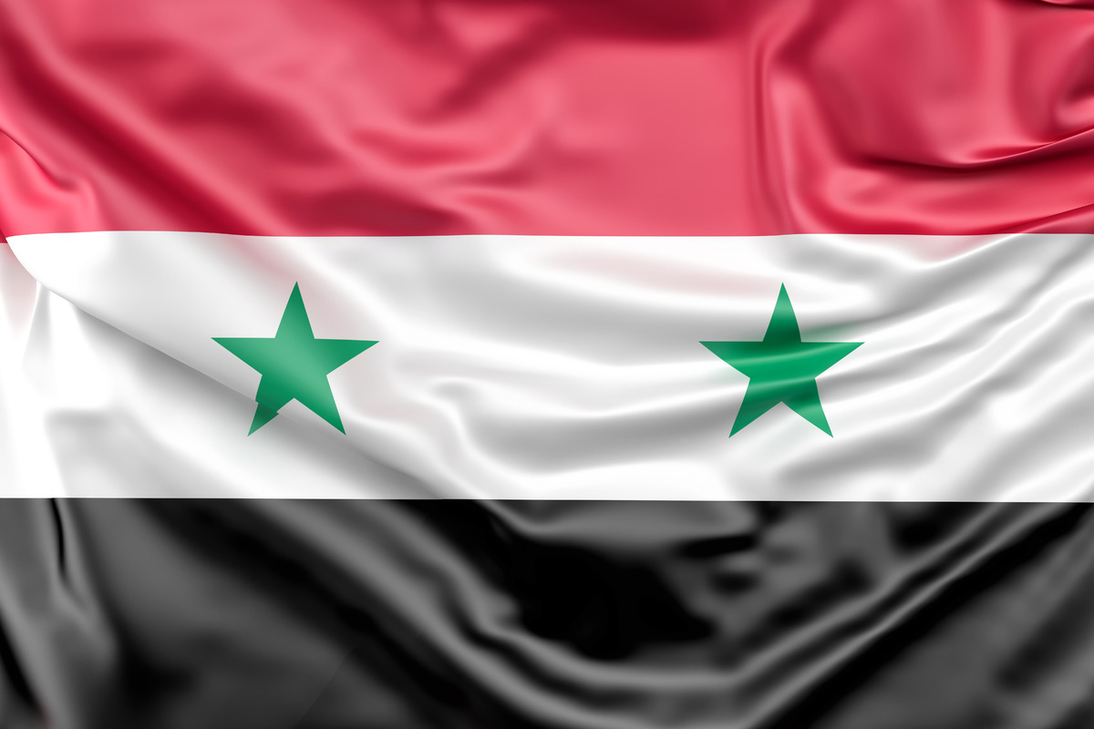 Flag of Syria - slon.pics - free stock photos and illustrations