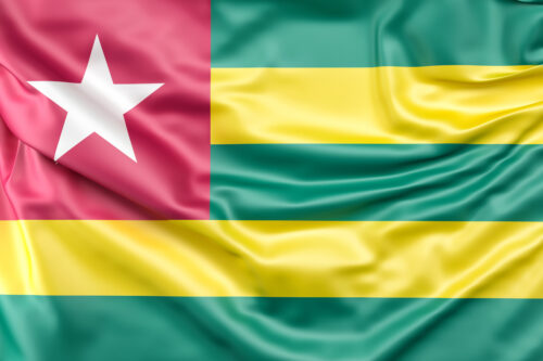 Flag of Togo - slon.pics - free stock photos and illustrations