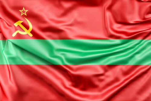 Flag of Transnistria - slon.pics - free stock photos and illustrations