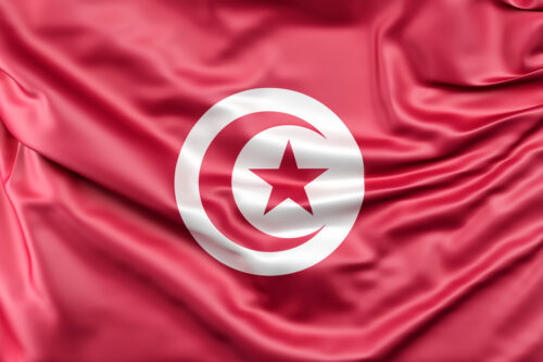Flag of Tunisia - slon.pics - free stock photos and illustrations