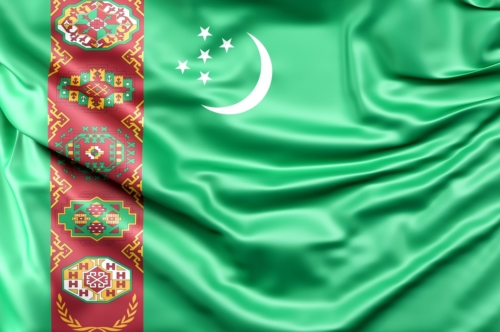 Flag of Turkmenistan - slon.pics - free stock photos and illustrations
