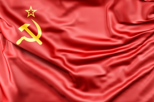 Flag of USSR - slon.pics - free stock photos and illustrations