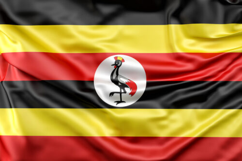 Flag of Uganda - slon.pics - free stock photos and illustrations
