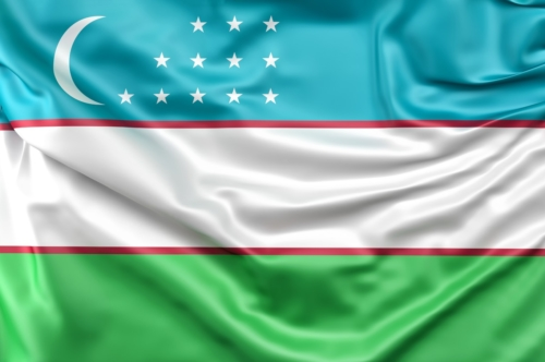 Flag of Uzbekistan - slon.pics - free stock photos and illustrations