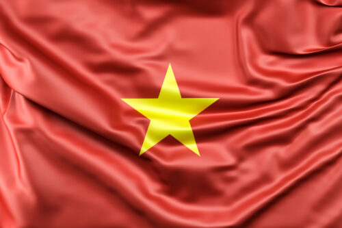 Flag of Vietnam - slon.pics - free stock photos and illustrations