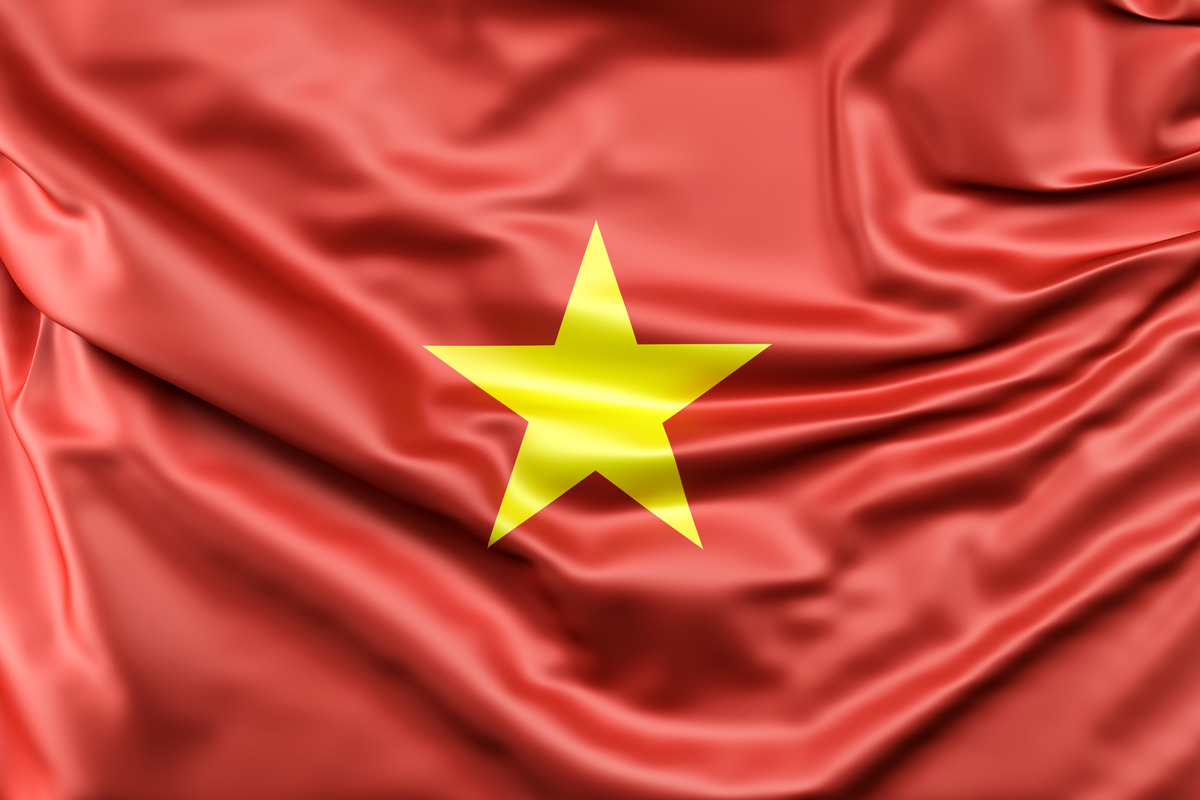 Flag of Vietnam - slon.pics - free stock photos and illustrations