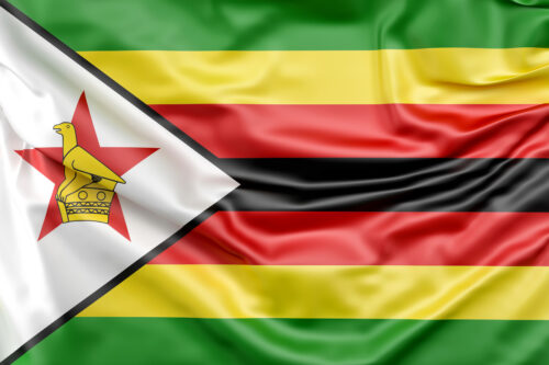 Flag of Zimbabwe - slon.pics - free stock photos and illustrations