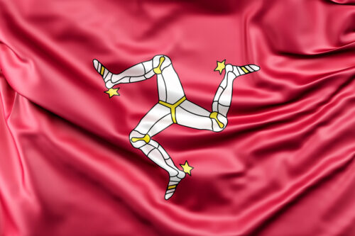Flag of the Isle of Man - slon.pics - free stock photos and illustrations