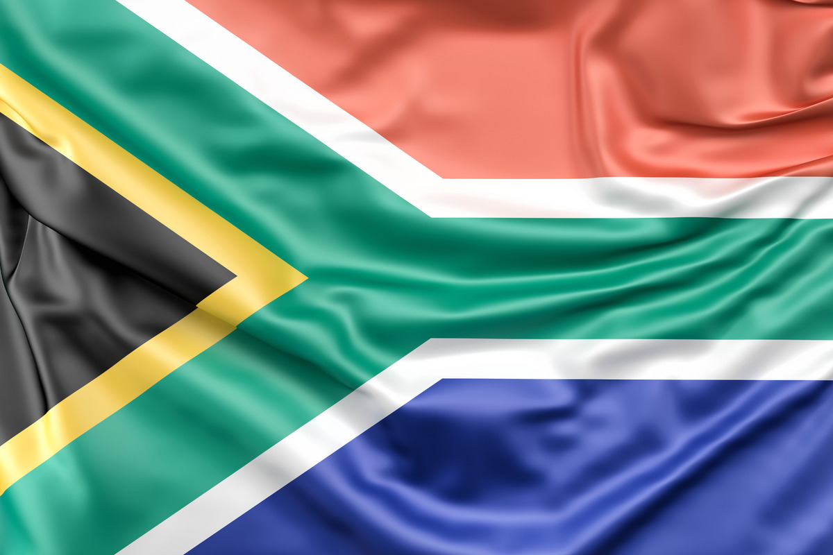 Flag of the Republic of South Africa - slon.pics - free stock photos and illustrations