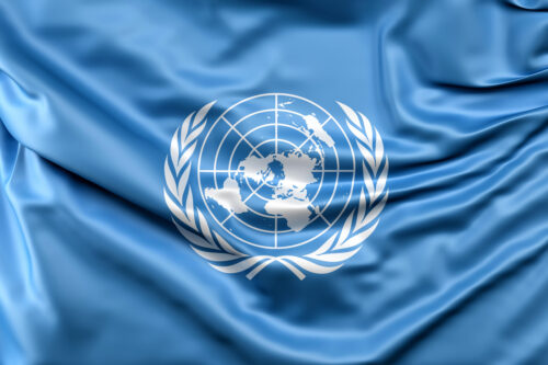 Flag of the United Nations - slon.pics - free stock photos and illustrations