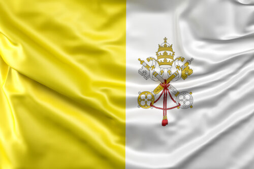Flag of the Vatican City - slon.pics - free stock photos and illustrations