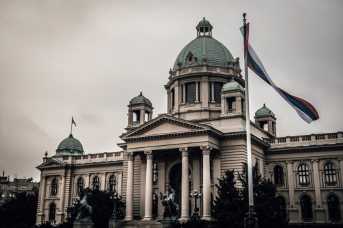 House of the National Assembly of Serbia in Belgrade - slon.pics - free stock photos and illustrations