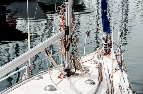 A fragment of yacht - slon.pics - free stock photos and illustrations