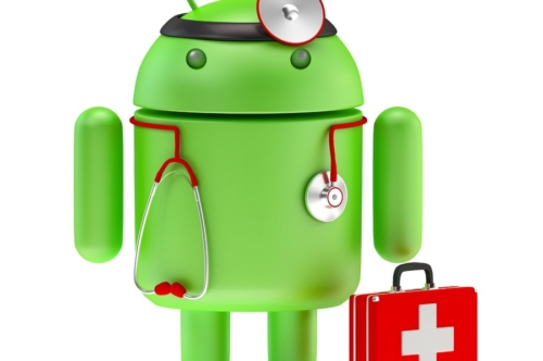 Android paramedic 3D illustration. Isolated. Contains clipping path - slon.pics - free stock photos and illustrations