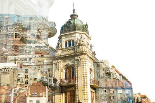 Belgrade. Double Exposure concept - slon.pics - free stock photos and illustrations