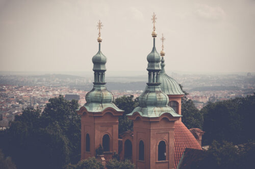 Cathedral of Saint Lawrence. Prague, Czech Republic - slon.pics - free stock photos and illustrations