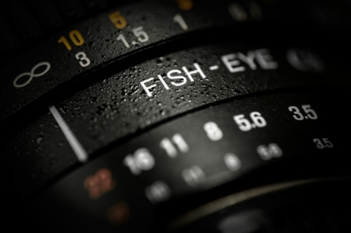Close-up of DSLR fishe-eye lens - slon.pics - free stock photos and illustrations